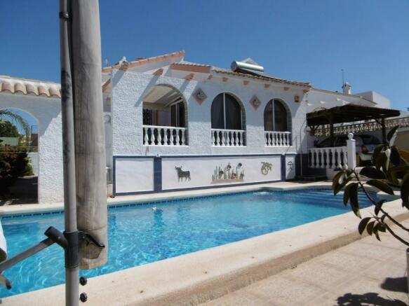 3 Bedroom Detached Villa For Sale In Camposol Murcia Spain