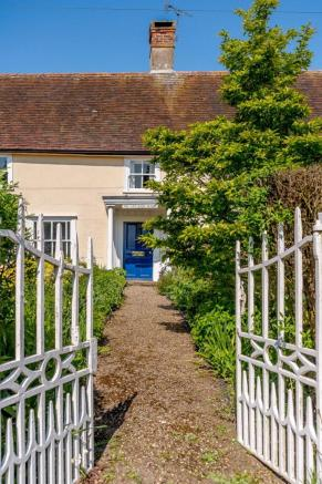 Front Gate & Path