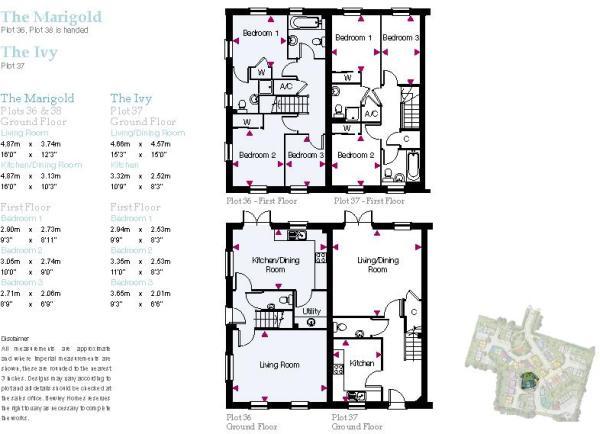 The Ivy Floorplan
