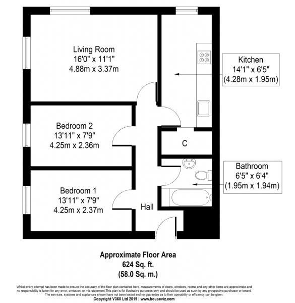 2 bedroom apartment for sale in Torrington Court, Swindon