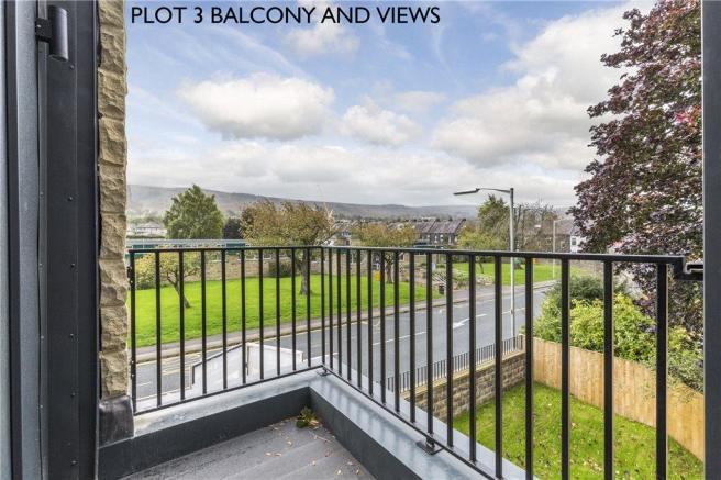Plot 3 Balcony/Views