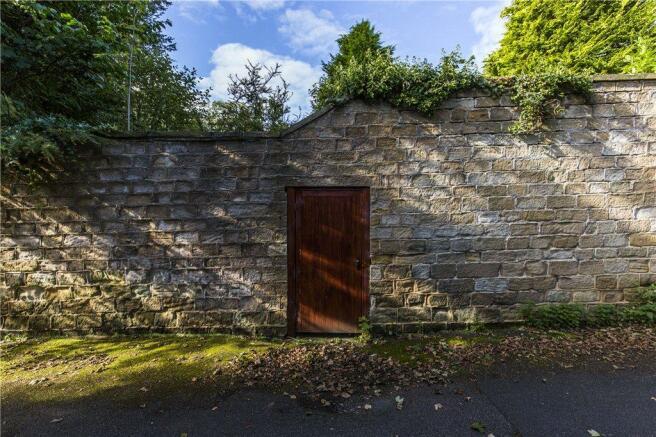 Walled Garden Door