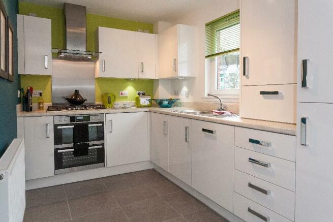 Eastfields New Homes Development By Bellway Homes Ltd
