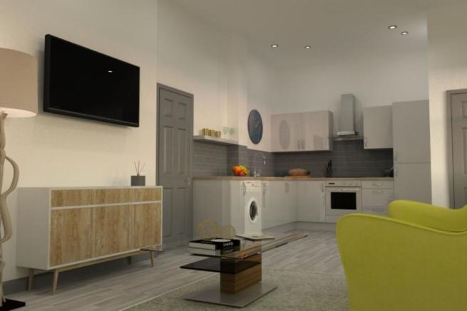 Open Plan Living / Dining Room / Kitchen