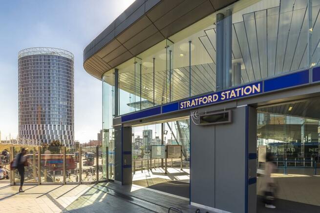 External (Stratford Station)