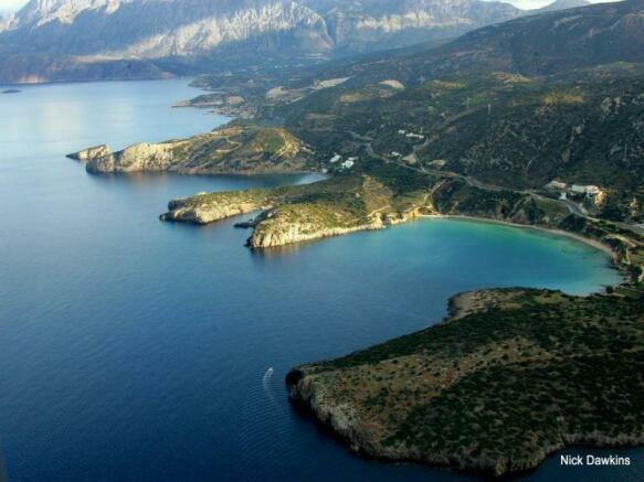 The coastal area of Istro