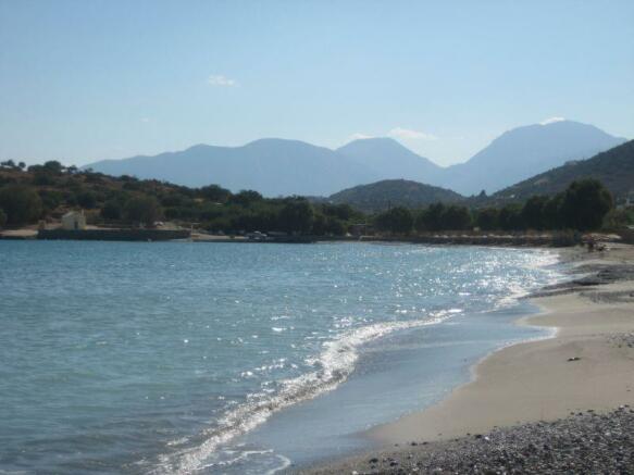 Beach in Istro / Kalo Chorio