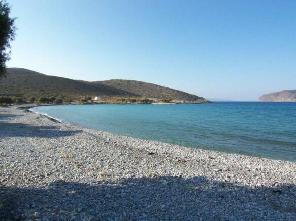 Nearby beach (Tholos)