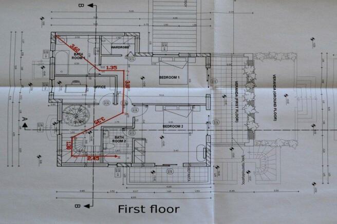 HKH41 - first floor plan