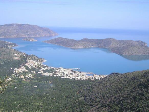 Elounda scenery
