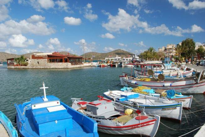 The village of Elounda