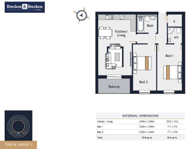 Sample Floorplan 1
