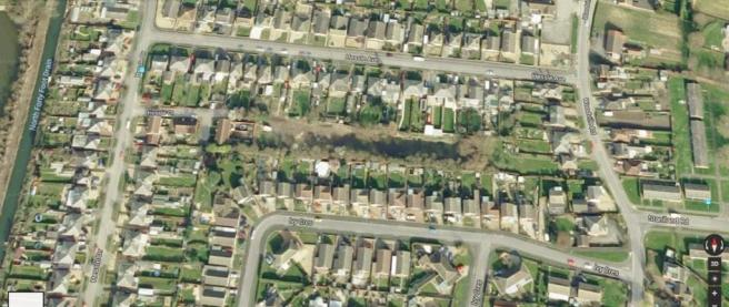 google aerial view