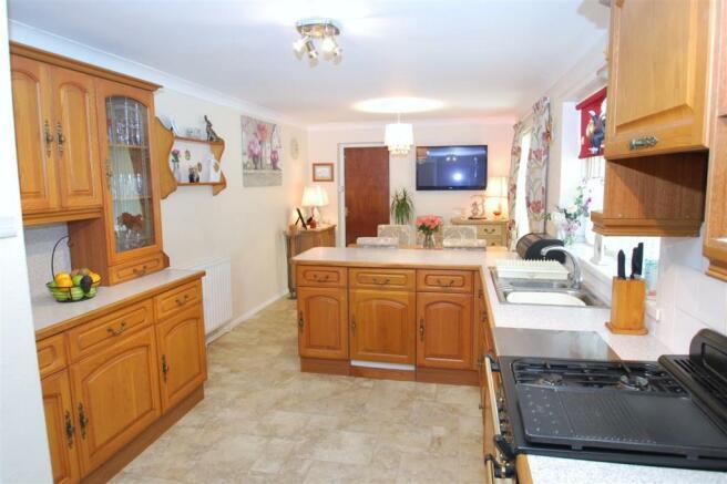 kitchen reverse view