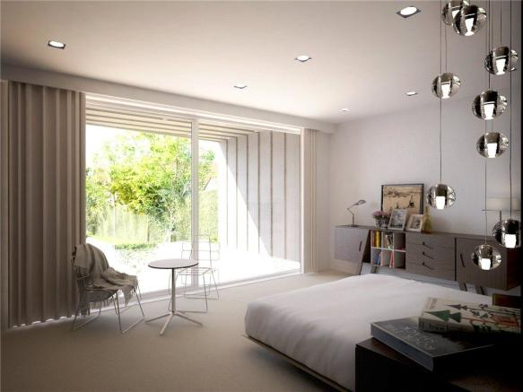 Master Bedroom Cgi