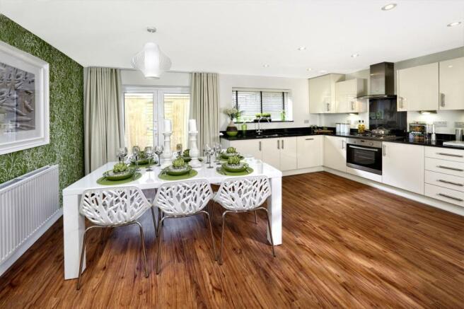 Trumpington Meadows Kestrel Kitchen