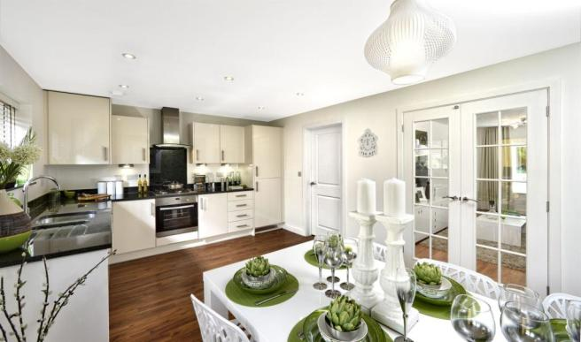 Trumpington meadows kitchen