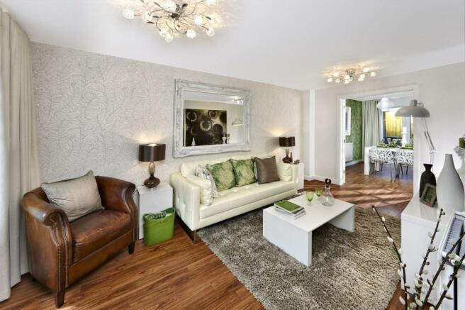 Trumpington Meadows Living Room