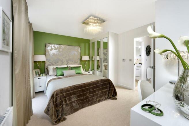 trumpington Meadows Kestrel Bedroom