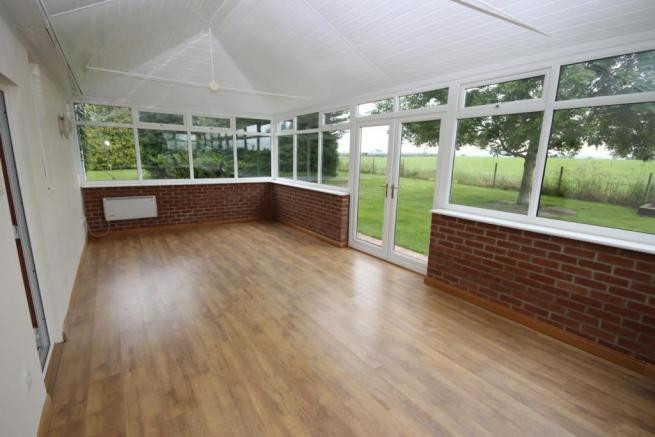 LARGE CONSERVATORY