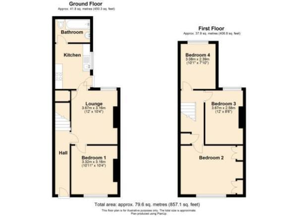 22 Salisbury Street - Floorplan