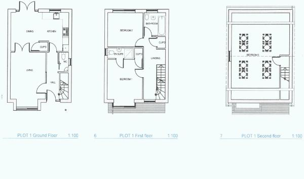 Plot 1 Floorplan