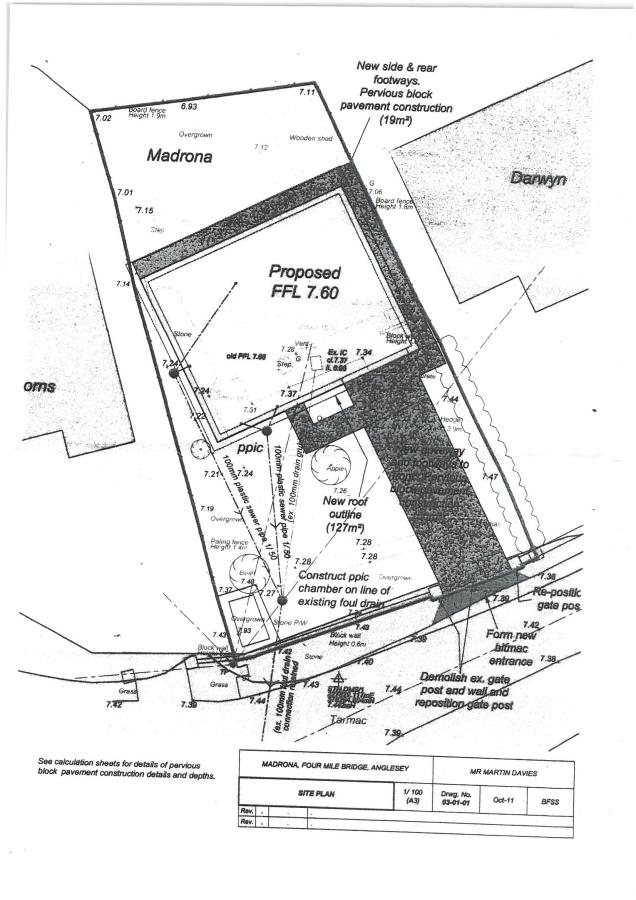 Plot For Sale In Four Mile Bridge Anglesey Ll65