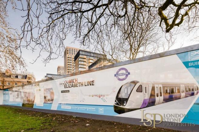 Onsite Future Crossrail site