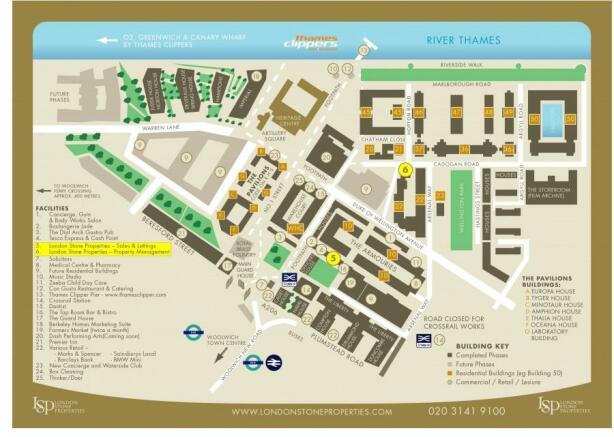 Royal Arsenal Map