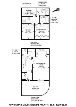 Floorplan (Not Exact)