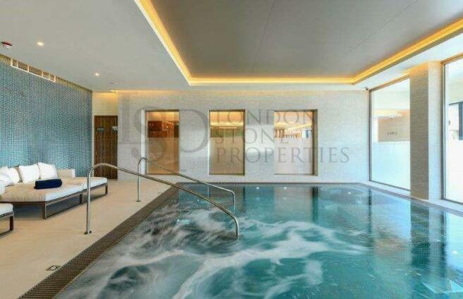 Spa & Swimming Pool Area