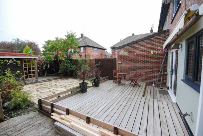 Decked Rear Garden