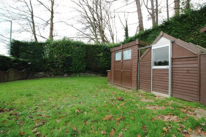 Garden and sheds
