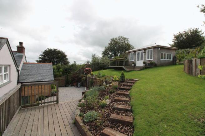 Garden and chalet