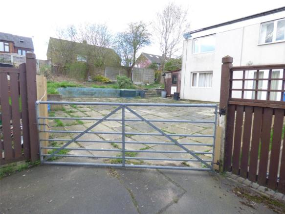 Gated Rear Entance