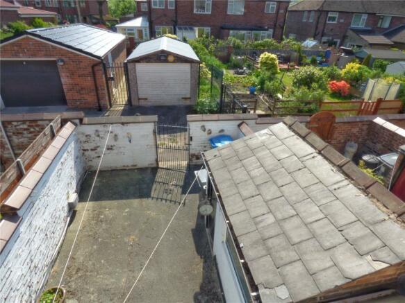 Rear Yard and Garage