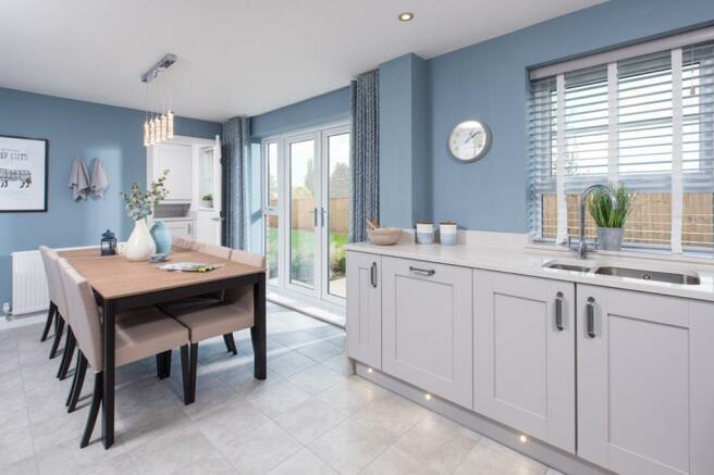 Windermere 4 bedroom home kitchen