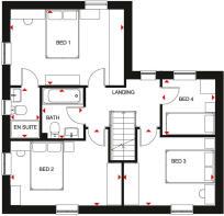 Alderney First Floor Plan