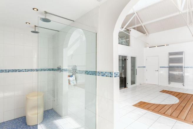 Shower Area of...