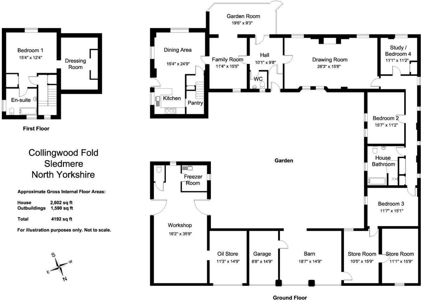 4 bedroom barn conversion for sale in Bridlington Road, Sledmere