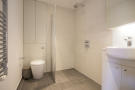 Shower room with bui