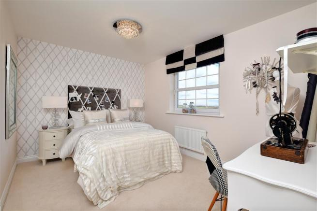 Image shows Sherbourne show home, Castle Vale