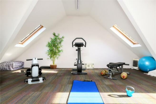 Gym Over Garage