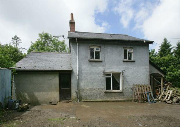 Rear of farmhouse