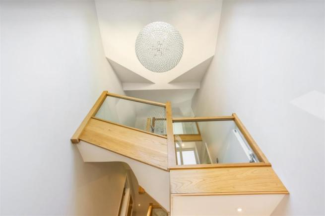 View of stairs