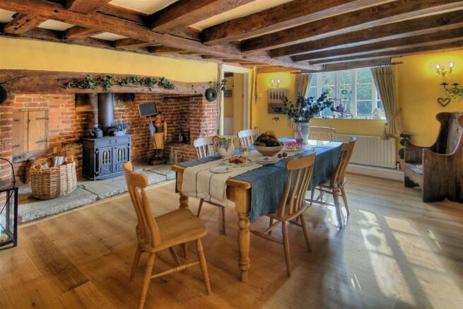 Manor Farm House Dining Room