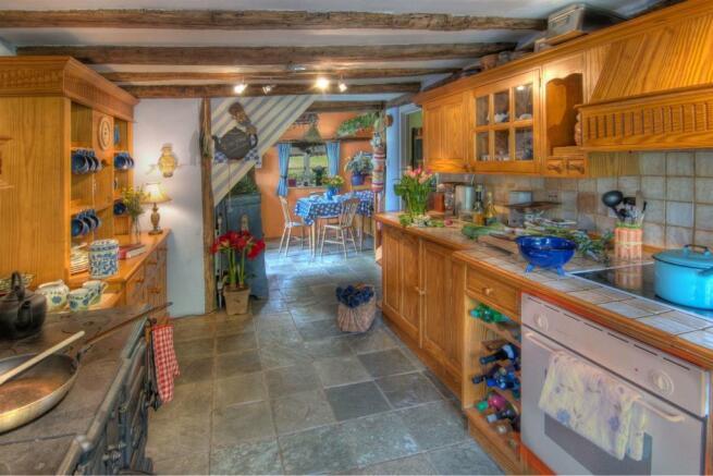 Manor Farm House Kitchen