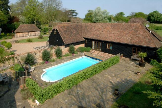 Barn and Pool