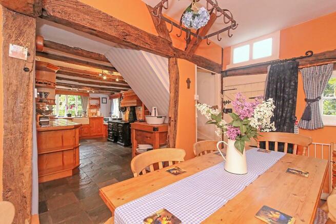 Manor Farm House Breakfast Room