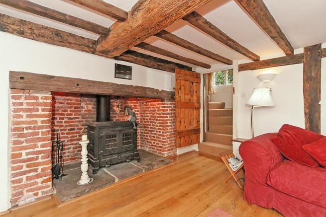 Manor Farm House Drawing Room Fireplace